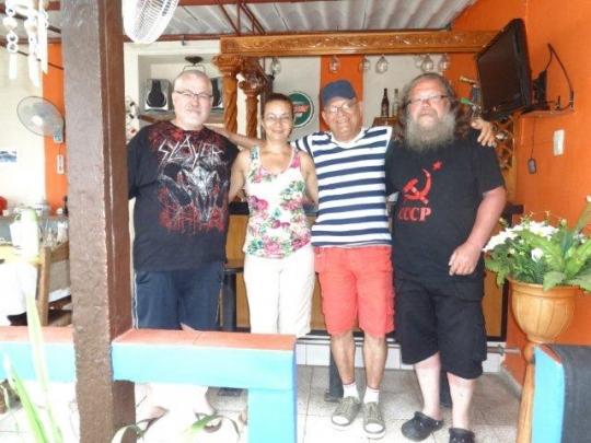 Mayo 2016 - Con nuestros maravillosos huéspedes de Alemania