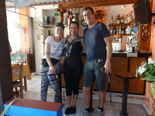 Febrero 2019 - Con nuestros huéspedes de Italia