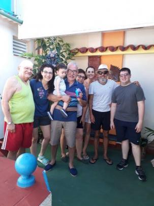 Con nuestros excelentes huéspedes de Argentina
