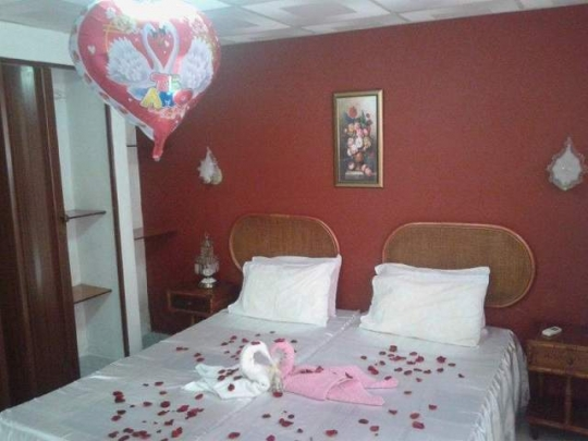 Decoración de habitación para recién casados en nuestro hostal