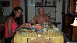 Huéspedes de Italia y Cuba - Agosto 2013