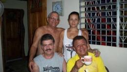 Dos huéspedes del hermano país de México