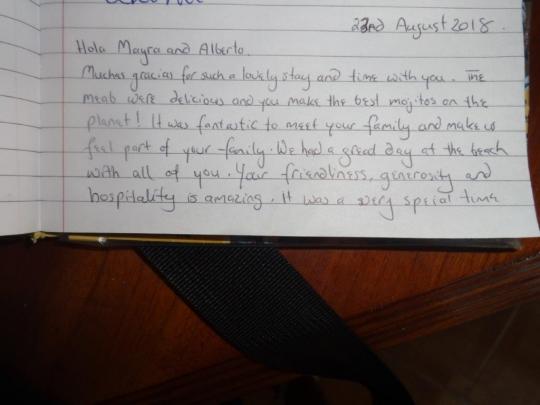Testimonio de nuestros huéspedes de Nueva Zelandia